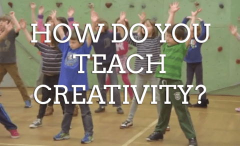 How Do You Teach Creativity?